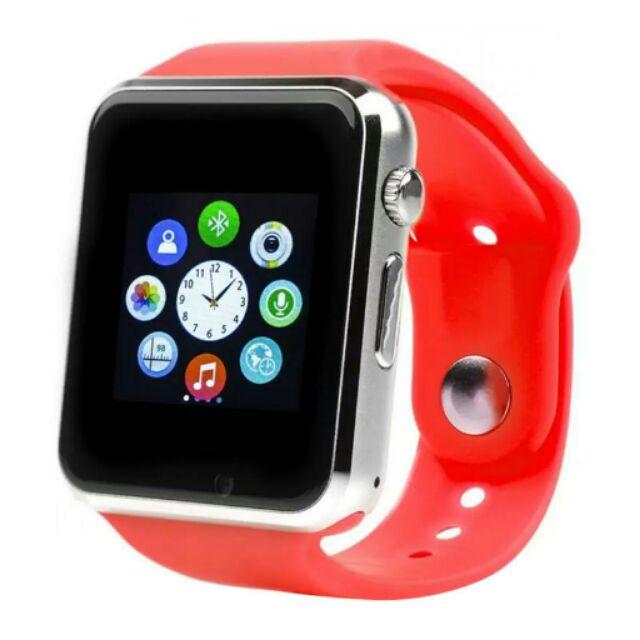Đồng hồ thông minh Smart Watch A1 gắn sim độc lập Đỏ