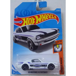 Xe mô hình Hot Wheels '65 Mustang Fastback FYD08