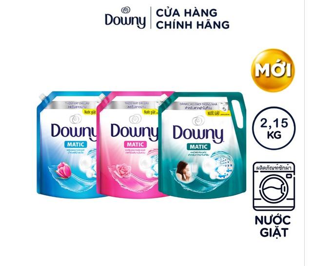 Nước giặt Downy Matic túi 2,15kg (MỚI)