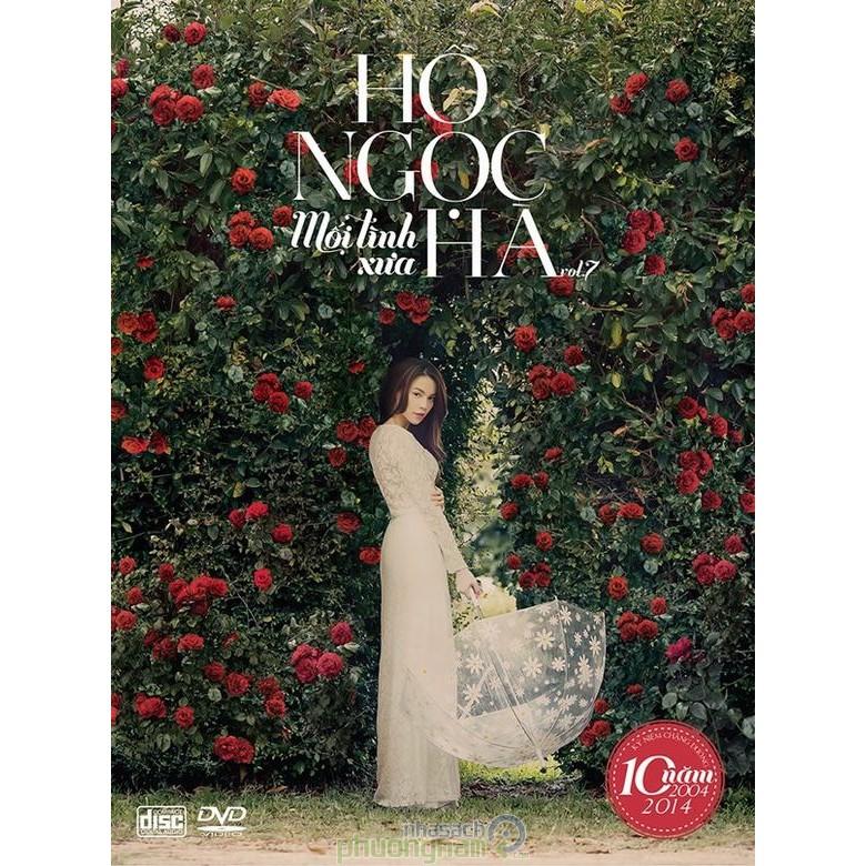 Hồ Ngọc Hà - Mối Tình Xưa (CD + DVD) [Kỷ Niệm 10 Năm Ca Hát]