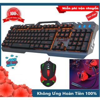 Bộ Bàn Phím T21 Chuột A903 Led Và Tai Nghe Gaming G10 Cực Đẹp thumbnail