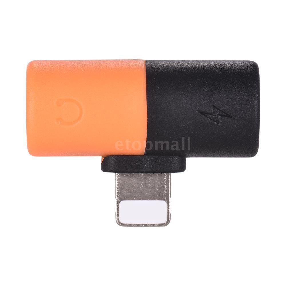 Đầu Chia Cổng Lightning 2 Trong 1 3.5mm Cho Iphone X 8 7 Ipod Ipad Ios