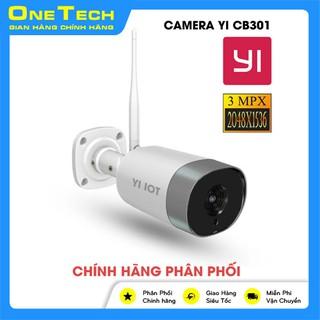 Camera Wifi YI CB301 ngoài trời chính hãng, độ phân giải 3.0Mpx SUPERHD 1536P, kèm thẻ nhớ 128GB thumbnail