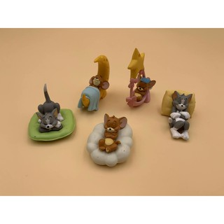 Hand-made cat and mouse Tom cat Jerry mouse Q version box egg hand-made doll decoration model