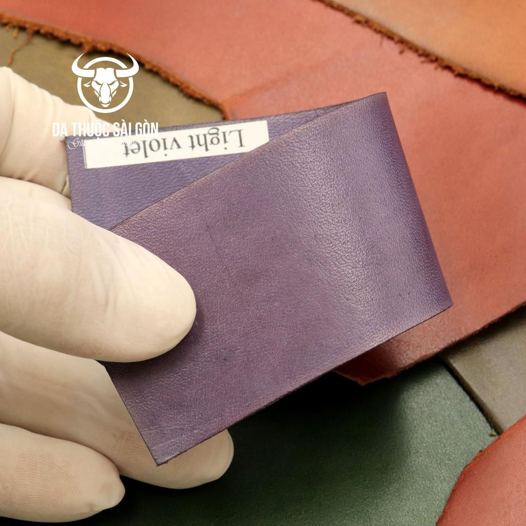 Thuốc Nhuộm Da Giày Màu Tím Phong Lan (Light Violet) - Hàng Italy - Da Thuộc Sài Gòn