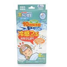 Set 4 miếng dán hạ sốt cho trẻ em hương bạc hà