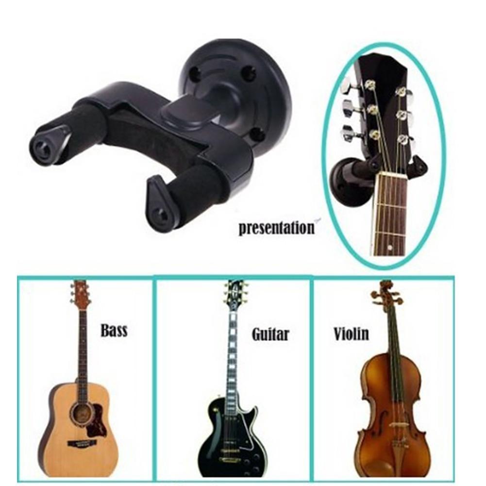 Guitar Hanger Hook Holder Wall Mount Display Guitar Keeper for Bass Violin Banjo-TQ