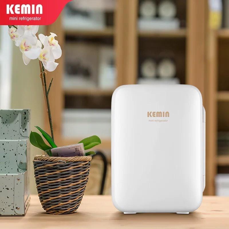 Tủ lạnh mini bảo quản mỹ phẩm, sữa mẹ, dược phẩm KEMIN 10L cao cấp