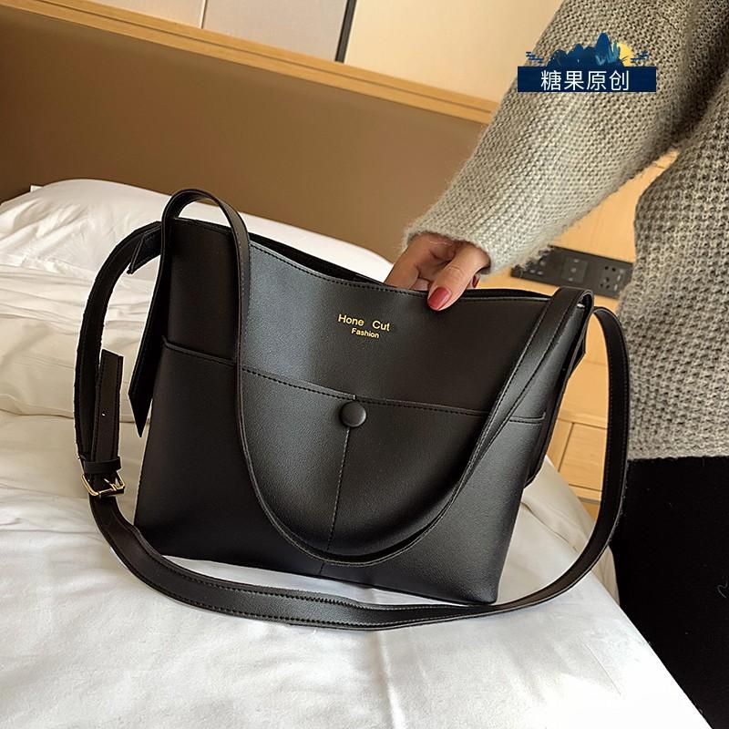 Túi Đeo Vai Cỡ Lớn Kiểu Retro Thiết Kế Quyến Rũ Cho Nữ