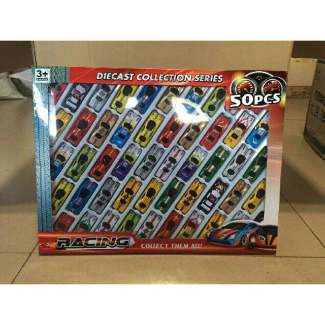 Bộ đồ chơi 50 chiếc ô tô mô hình cho bé yêu. - 2426241 , 1157745826 , 322_1157745826 , 95000 , Bo-do-choi-50-chiec-o-to-mo-hinh-cho-be-yeu.-322_1157745826 , shopee.vn , Bộ đồ chơi 50 chiếc ô tô mô hình cho bé yêu.