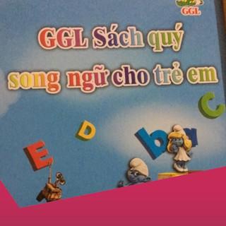 [Giảm 9k cho đơn từ 99k]Sách song ngữ cho bé .