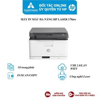 Máy in màu đa chức năng HP Color Laser 178nw - 4ZB96A