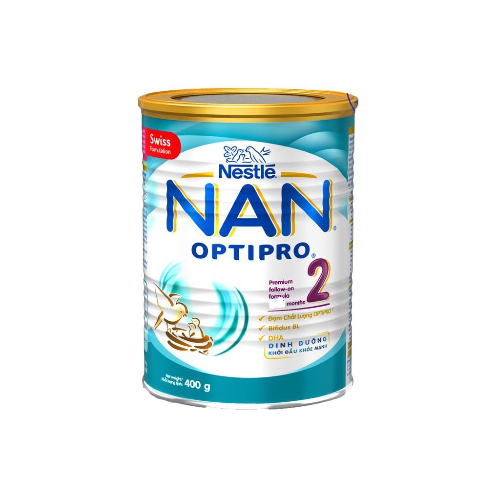 Sữa bột Nestle NAN Optipro 2 400g - 2803933 , 1232478055 , 322_1232478055 , 199000 , Sua-bot-Nestle-NAN-Optipro-2-400g-322_1232478055 , shopee.vn , Sữa bột Nestle NAN Optipro 2 400g