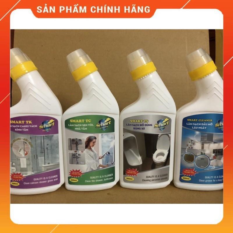 Giá bán Nước Tẩy Rửa Smart Chính Hãng, Tẩy Sứ, Kính, Dầu Mỡ, Inox