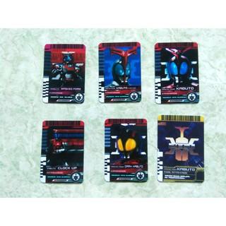 Bán lẻ 6 thẻ Kamen Rider Kabuto