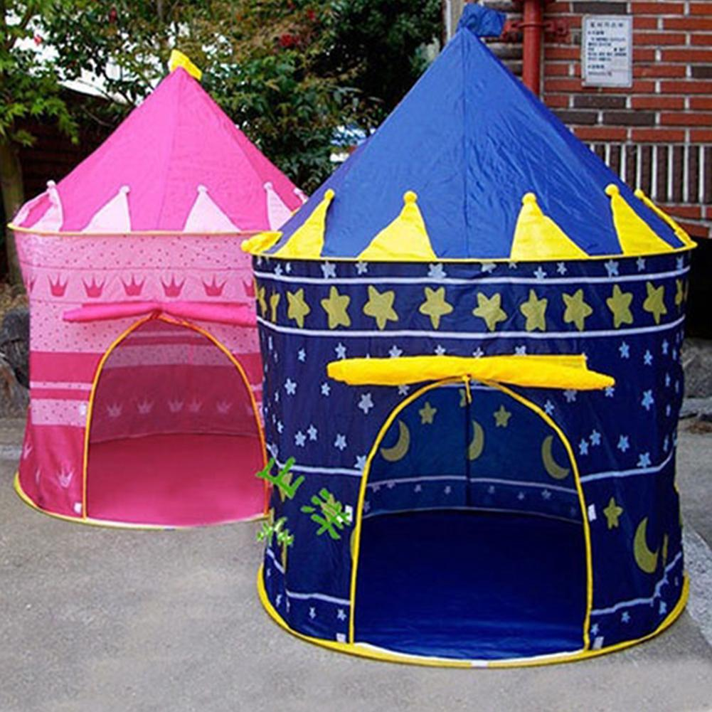 Child,Portable,Play Tent Kid/Girl Princess Castle,Fairy Play House Park,Garden