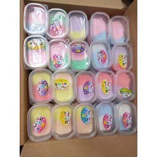 đồ chơi slime hộp slime phối 2 màu đẹp mã RWI37 A((Ảnh chính chủ))