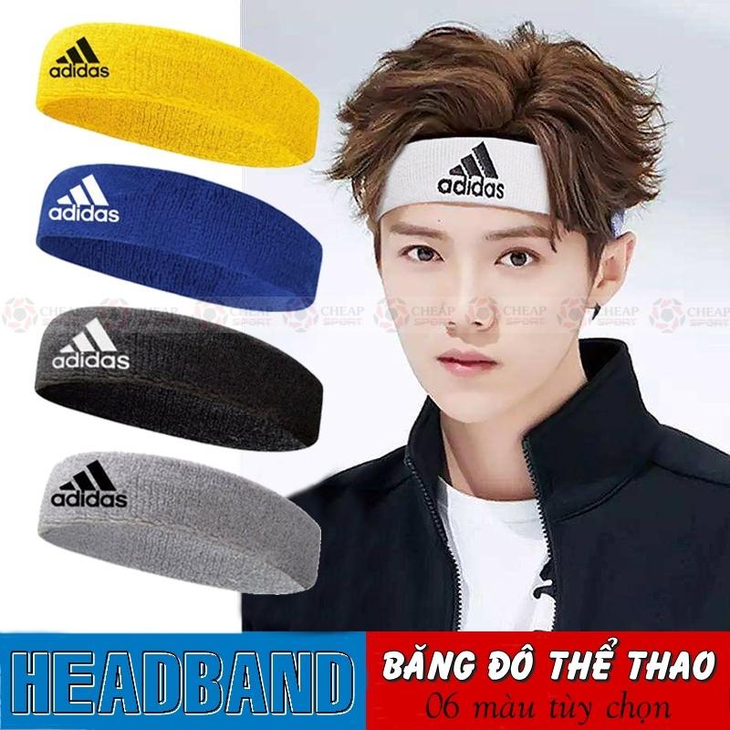 Băng Đô Thể Thao Headband Băng Trán Thấm Chặn Mồ Hôi Đầu Dùng Cho Tập Gym, Chạy Bộ, Bóng Rổ, Bóng Chuyền Tennis
