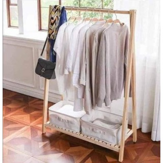 Kệ treo đồ bằng gỗ chữ A