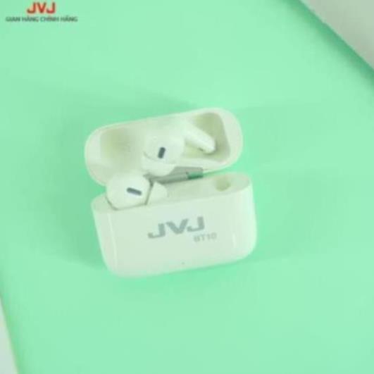 ☢️MẠI DÔ☢️ Tai Nghe Không Dây Bluetooth 5.0 JVJ BT10 cao cấp cảm biến vân tay, xuyên âm
