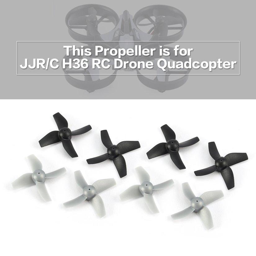 Bộ 8 cánh quạt CW/CCW chính hãng cho mô hình máy bay drone điều khiển từ xa mini JJR/C H36