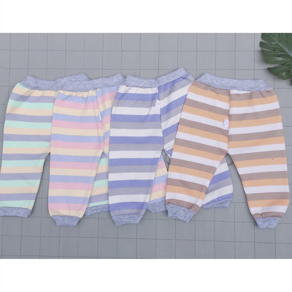 Quần nỉ cho bé hàng đẹp, quần nỉ cho bé trai bé gái sơ sinh từ 3-14kg
