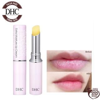 Son Dưỡng Môi Dưỡng Ẩm Ngừa Thâm Môi Hiệu Quả DHC Extra Moisture Lip Cream 1.5g thumbnail