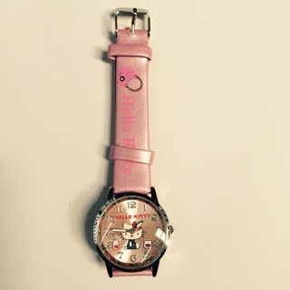 Đồng hồ kitty dây da thumbnail