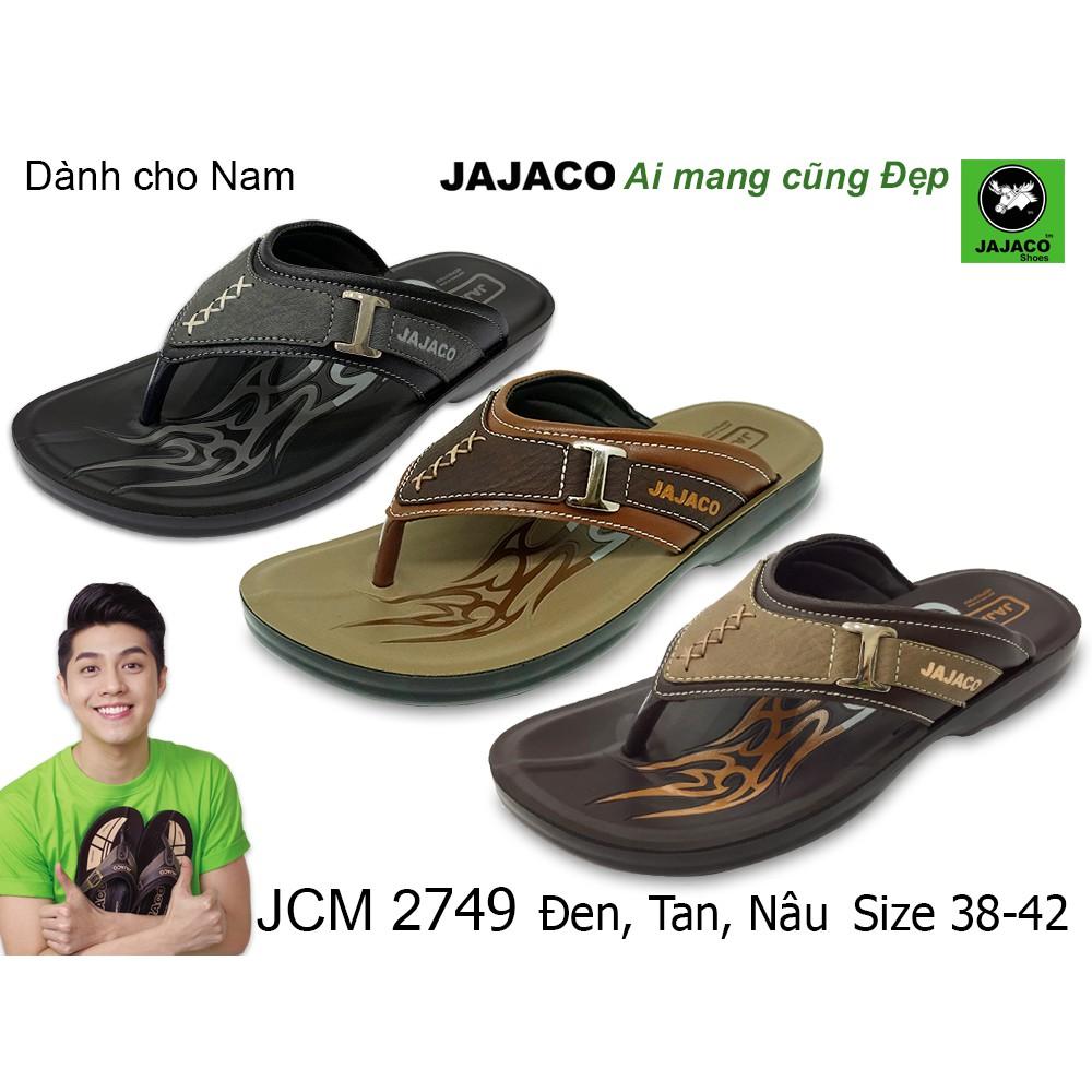 Dép nam xỏ ngón nhập khẩu Thái Lan JAJACO, chất liệu PU cao cấp, thời trang độ bền cao JCM 2749 - 21835496 , 2249782493 , 322_2249782493 , 265000 , Dep-nam-xo-ngon-nhap-khau-Thai-Lan-JAJACO-chat-lieu-PU-cao-cap-thoi-trang-do-ben-cao-JCM-2749-322_2249782493 , shopee.vn , Dép nam xỏ ngón nhập khẩu Thái Lan JAJACO, chất liệu PU cao cấp, thời trang đ