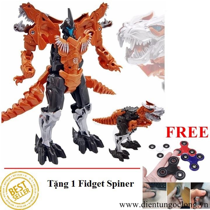 Bộ Robot Biến Hình Khủng Long Tặng Fidget Spinner - 2753432 , 1012372266 , 322_1012372266 , 115000 , Bo-Robot-Bien-Hinh-Khung-Long-Tang-Fidget-Spinner-322_1012372266 , shopee.vn , Bộ Robot Biến Hình Khủng Long Tặng Fidget Spinner
