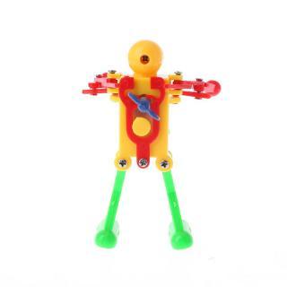 DE❀1 PC Children Kids Funny Plastic Clockwork Wind Up Windup Party Toy Gift – Robot