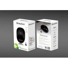 (FreeShip từ 99k) Chuột không dây vi tính Bosston Q1 - tặng kém pin