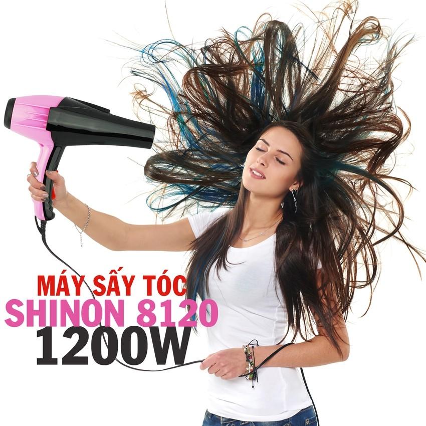 Máy sấy tóc Shinon SH-8120 (Hồng phối đen) #NETTA