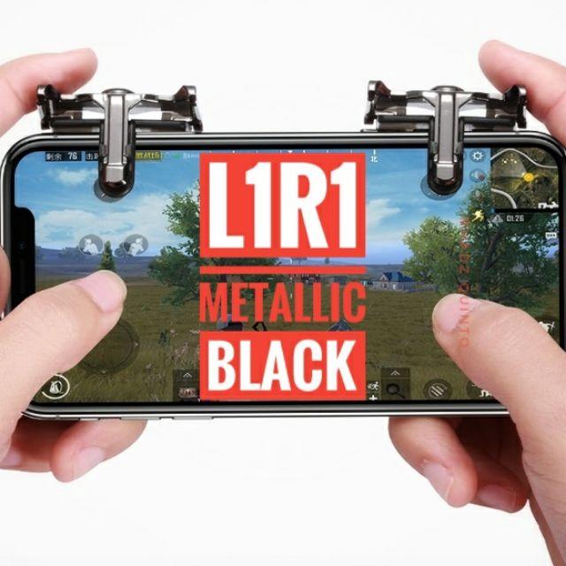 Set 2 nút L1 R1 hỗ trợ chơi game bắn súng trên điện thoại tiện dụng