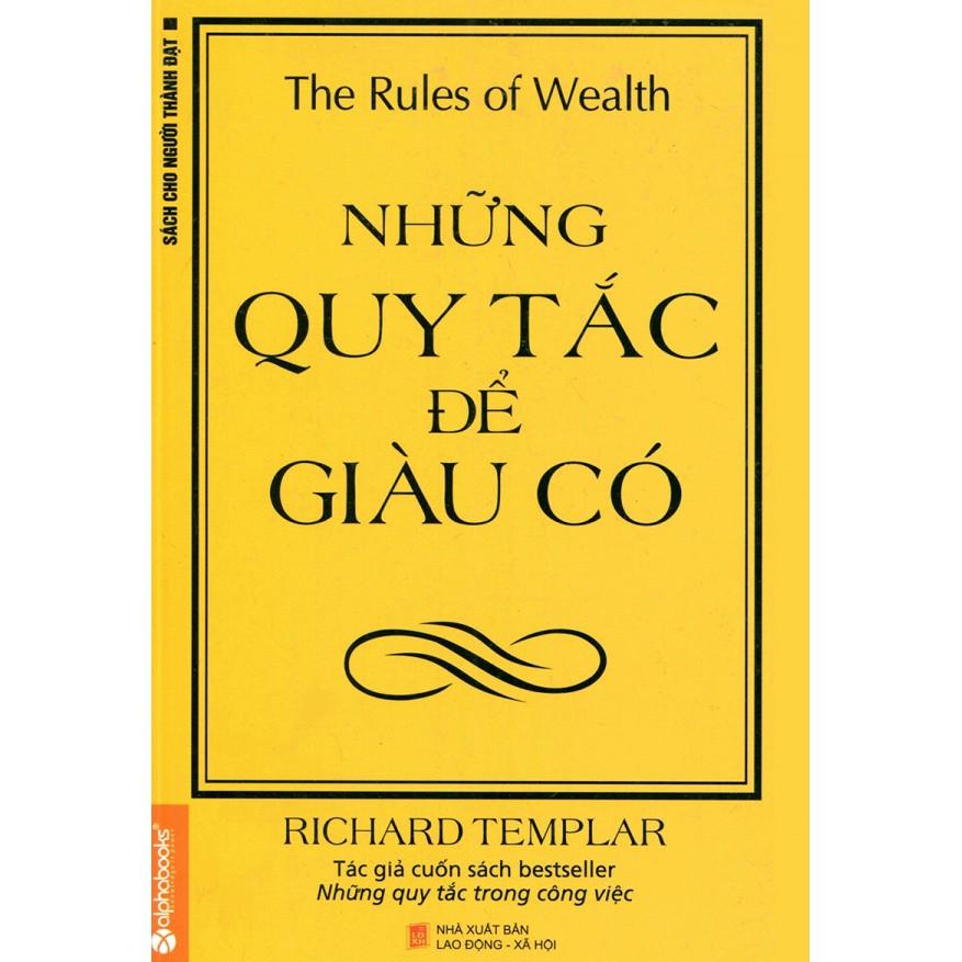 Sách - Những quy tắc để giàu có TB