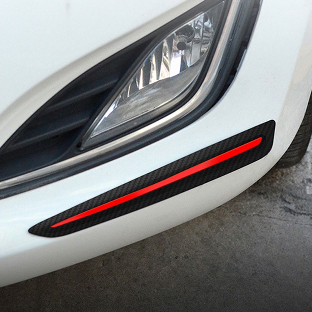 Decoration Anti Scratch Soft Front Rear Exterior Protectors Guard Bumper Strip Universal For 3R