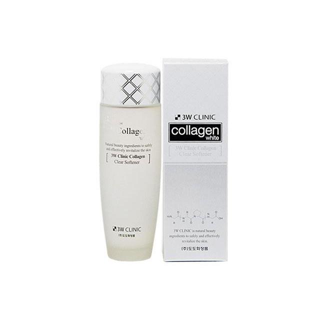 Nước hoa hồng chứa tinh chất làm trắng da - 3W Clinic Collagen Clear Softener - 2903854 , 211256735 , 322_211256735 , 278000 , Nuoc-hoa-hong-chua-tinh-chat-lam-trang-da-3W-Clinic-Collagen-Clear-Softener-322_211256735 , shopee.vn , Nước hoa hồng chứa tinh chất làm trắng da - 3W Clinic Collagen Clear Softener