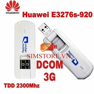 Usb 3G/4G Huawei E3276 có IPV6 – chạy đa mạng – tốc độ 3,5G