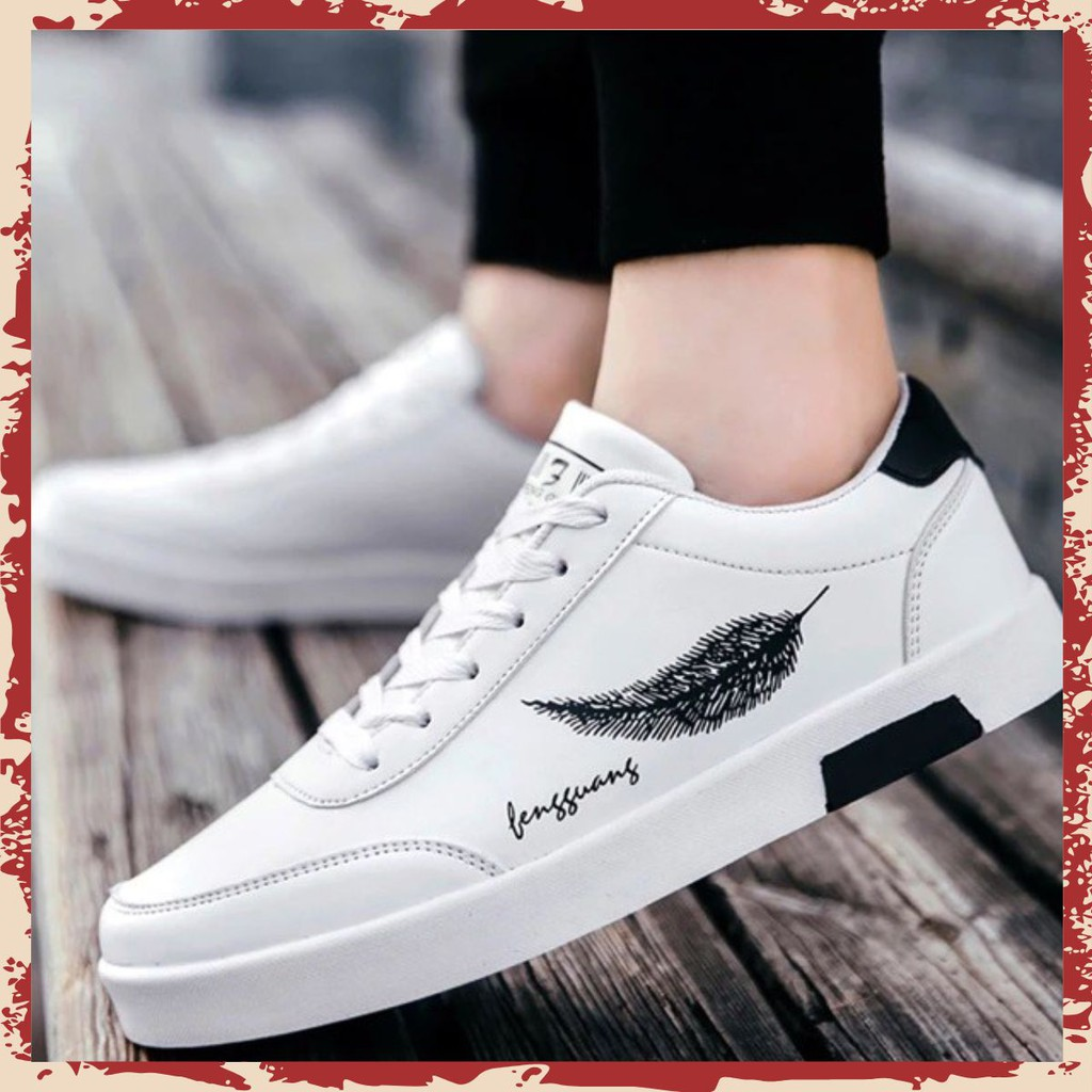 Giày Thể Thao Thời Trang Nam, Nữ VNXK Chuẩn Form Bền Đẹp  (Trắng các loại) TTN_1