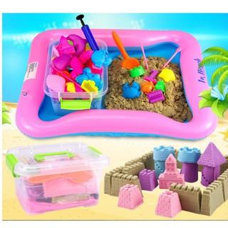 Đồ chơi cát động lực kèm phao và khuôn cho bé