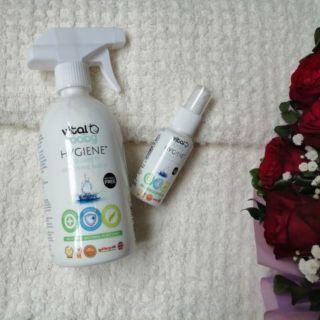 Nước tiệt trùng diệt khuẩn an toàn bình sữa rau quả đồ chơi Vital Baby