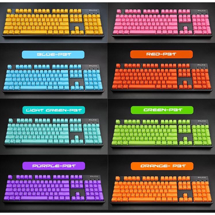 Keycap PBT Xuyên Led 104 phím đủ màu