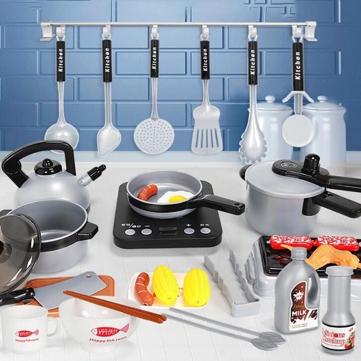 [FREESHIP] Bộ đồ chơi 36 món cho bé gái và bé trai Đồ chơi nấu ăn Kitchen Set