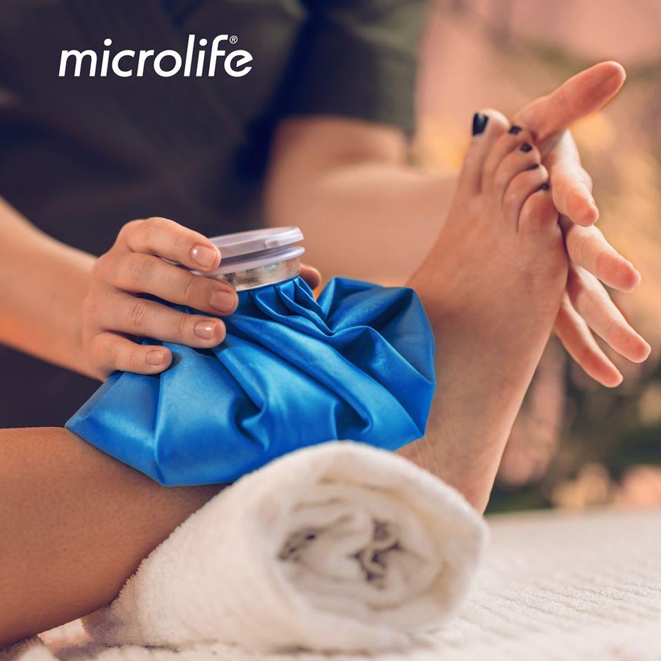 Túi Chườm Nóng Lạnh Microlife - Hạ Sốt , Giảm Đau Nhức Nhanh Chóng