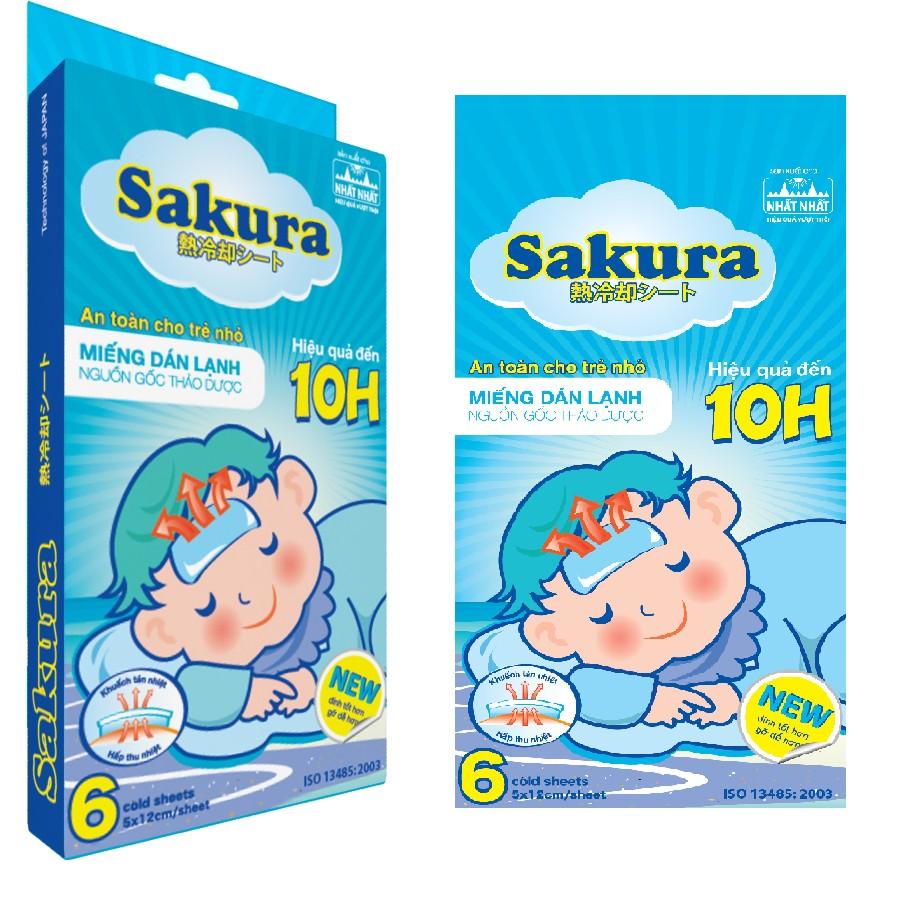 Miếng dán hạ sốt Sakura - 2567363 , 148265218 , 322_148265218 , 46000 , Mieng-dan-ha-sot-Sakura-322_148265218 , shopee.vn , Miếng dán hạ sốt Sakura