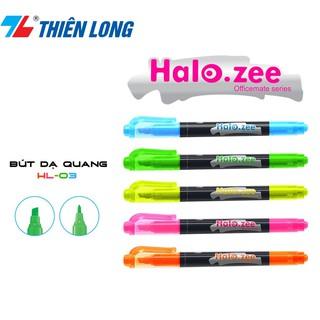 Bút Dạ Quang Hai Đầu Halozee HL-03 thumbnail