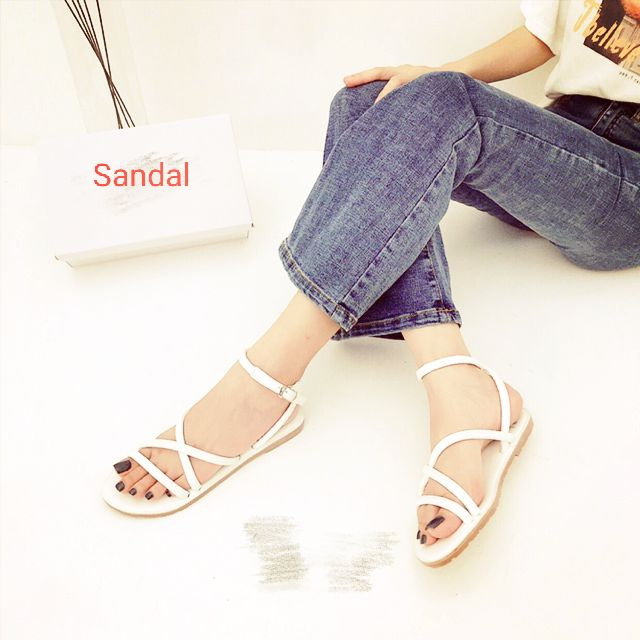 Giày sandal quai hậu đi học, đi biển mùa hè size 35,36,37,38,39 giá rẻ