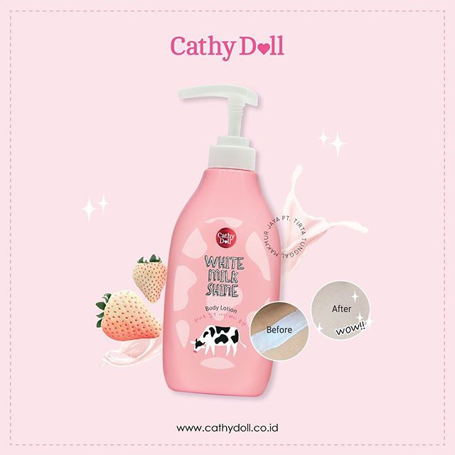 Sữa Tắm Trắng Da - Cathy Doll White Milk Shine Body Bath Cream | Shopee  Việt Nam
