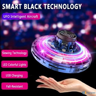 【COD】 FlyNova free route can swing mini fingertip gyro aircraft drone interactive decompression toy UFO