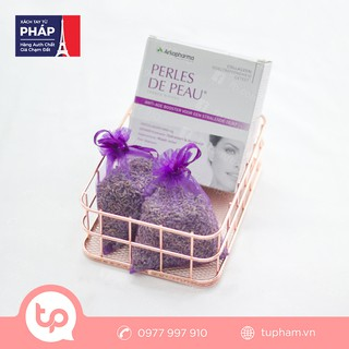 Túi Nụ Hoa Lavender Tặng Kèm Nước Uống Đẹp Da Perles De Peau 10 ống